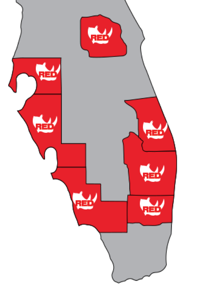 Red Rhino Office Map