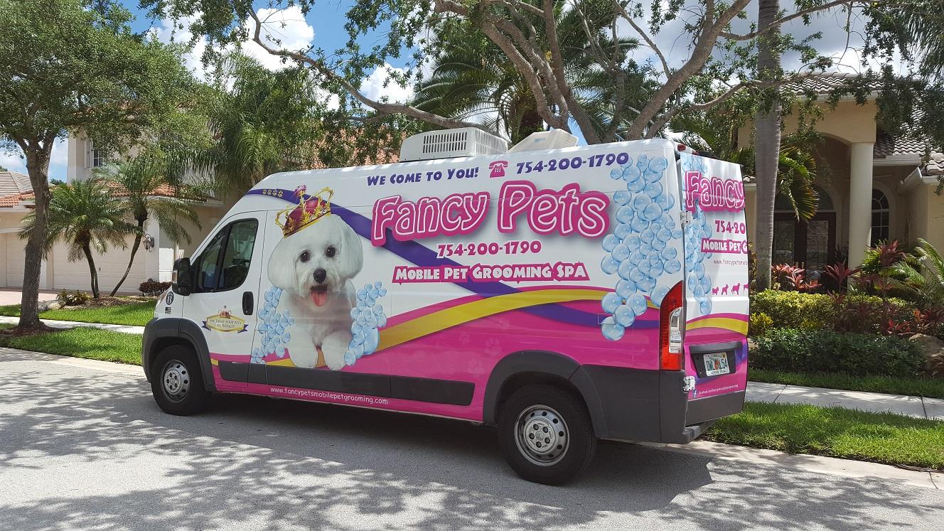 Fancy Pets Mobile Pet Grooming Dog Groomer In Weston Fl