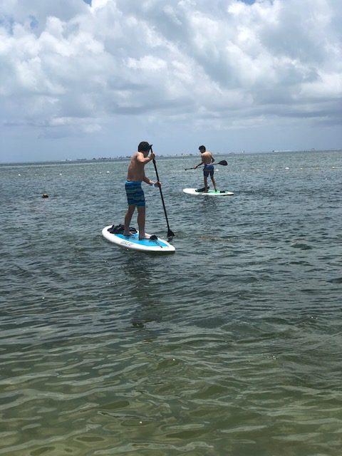 paddleboarding islamorada